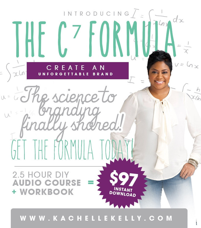 C7 Formula for an Unforgettable Brand Audio Course (instant download)