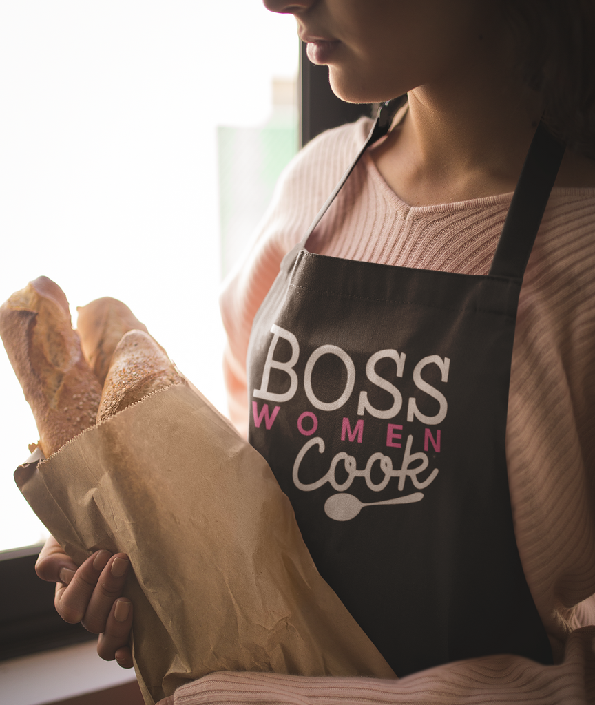 Boss Women Cook Apron (Black only)