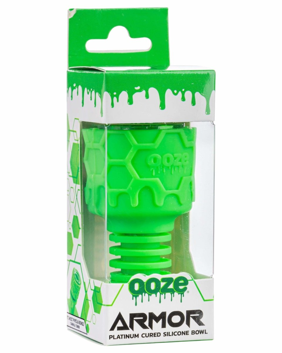 Ooze Armor Silicone Bowl and Mouthpiece Green