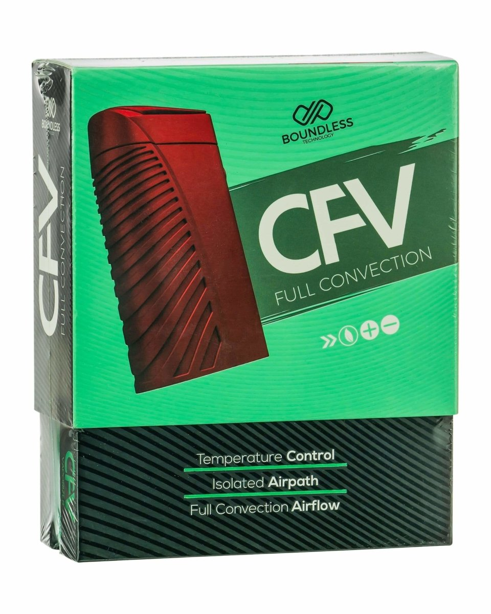 Boundless CFV Vaporizer Packaging