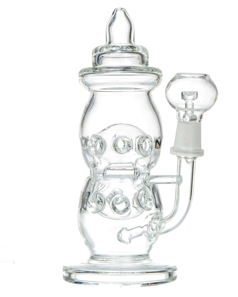 Clear Baby Bottle Dab Rig - DankStop