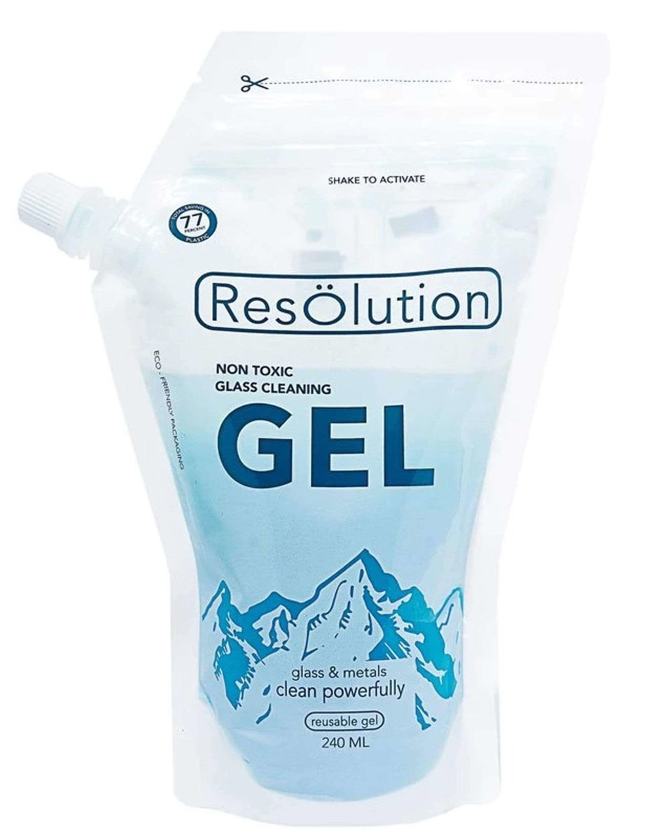 Gel Solution Glass Cleaner - Resolution