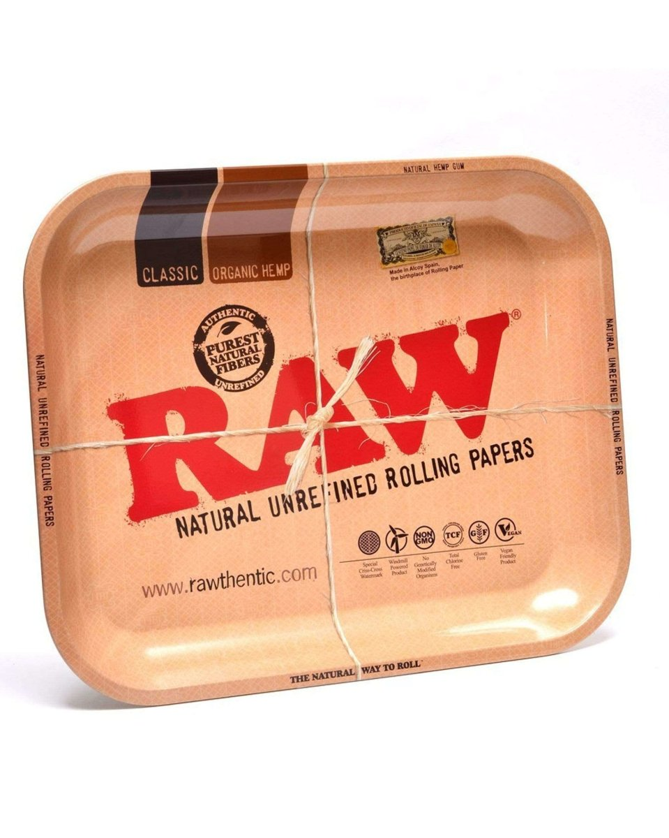 Large Rolling Tray - RAW