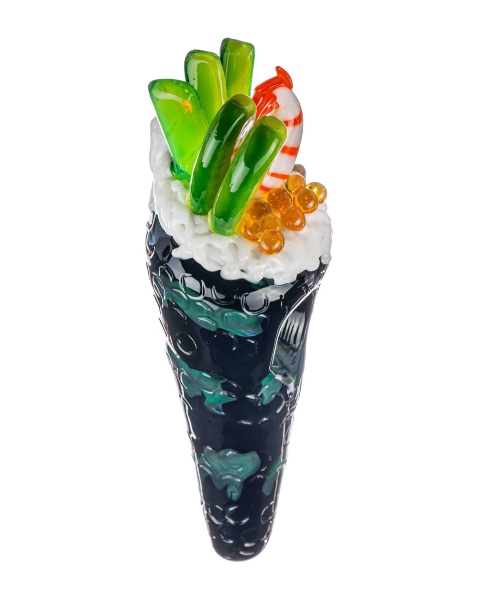 Shrimp Hand Roll Sushi Pipe - Empire Glassworks