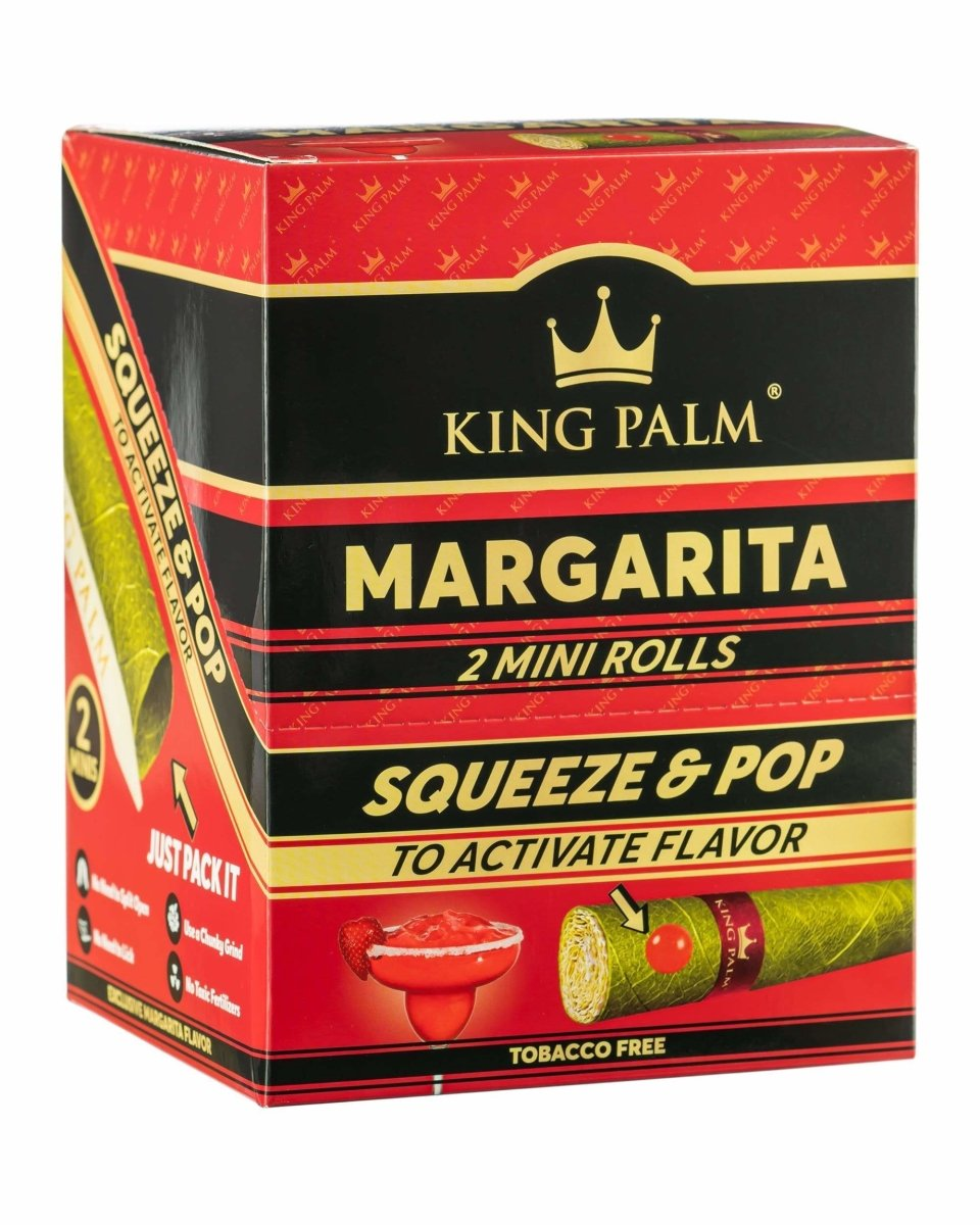 Squeeze & Pop Mini Size Pre-Rolls - King Palm