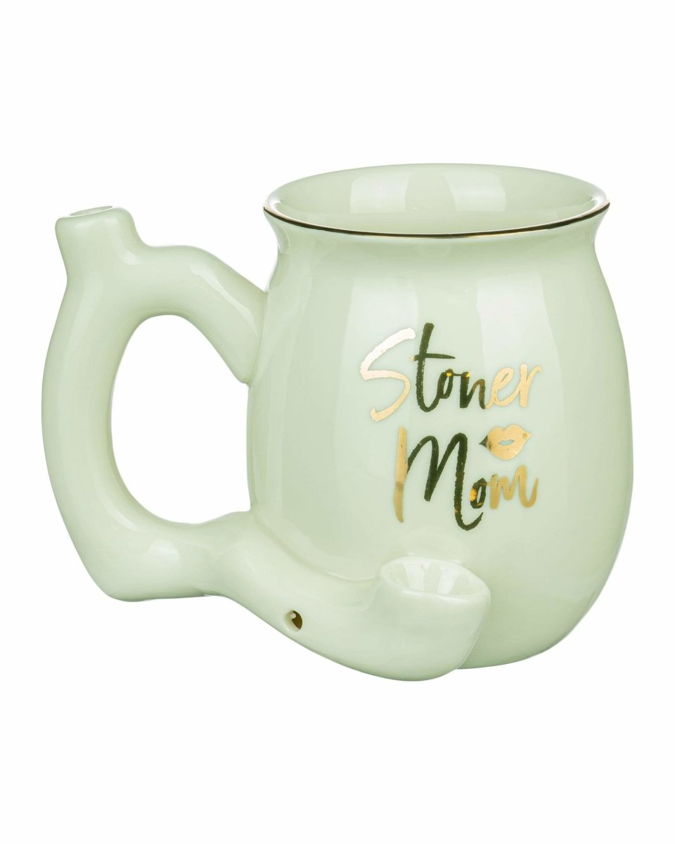 """Stoner Mom"" Small Pipe Mug"