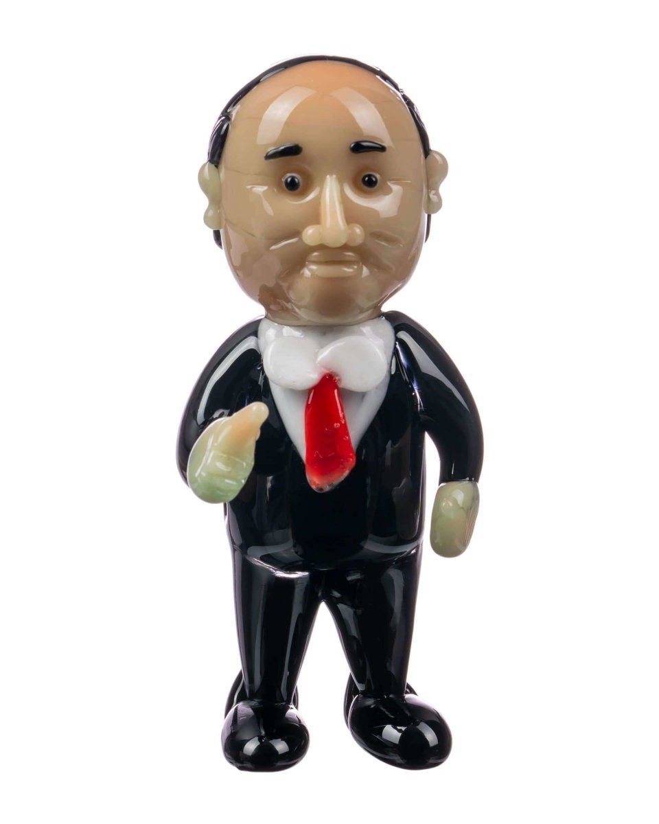 Vladimir Putin Hand Pipe - Empire Glassworks