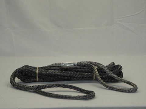 "7/16"" x 20' Dyneema Tow Rope WLL-8600 LBS Break-17200 LBS 5/8 VG Shackle 3.25T"