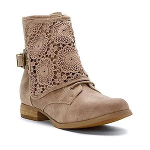 Women's Casual Lace Ankle Boots