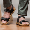 Men's Hook Loop Open Sandals Lightweight Comfortable Soft Sandal Shoes