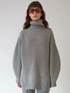 Round Neck Loose Knitting Sweater