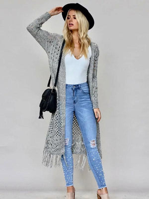 Fashion 2 Colors Sweater Cardigans Tops