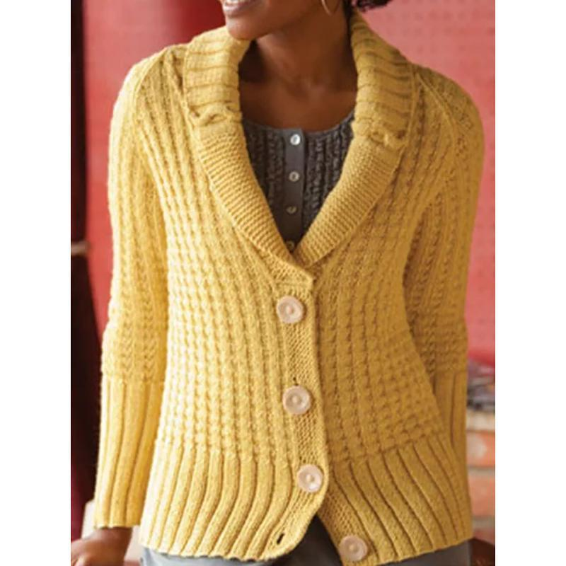 Vintage Style Sweater Cardigan