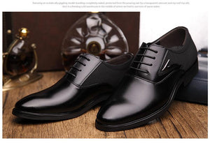 Men Shoes England Trend Leisure Leather Shoes Breathable For Male Footwear Loafers Men Flats