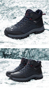 Waterproof Snow Boots Shoes Warm Winter Men's Sneakers Footwear Fashion Outdoor Ankle Boots Men's Boots