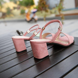 Women High Heels Sandals Summer Sexy Pumps Shoes