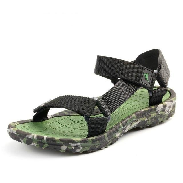 Men's Summer Beach Sandal Shoes Camouflage Water Slippers Flat Flip Flops