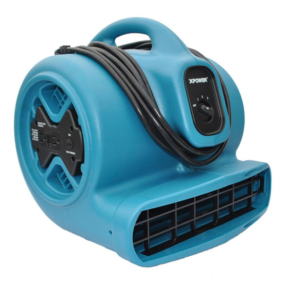 XPOWER X-600A 1/3 HP Air Mover - Air Mover - XPOWER