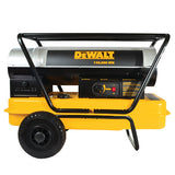 DEWALT 135000 BTU Forced Air Kerosene Heater DXH135HD Side View