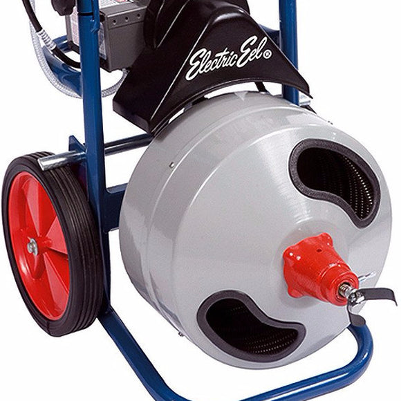 Electric Eel Z5-P-K-1/2IC75 Drain Cleaning Pro Electric with Built in Dolly - Plumbing Equipment - Electric Eel