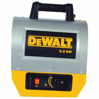 DEWALT 3.3 KW Forced Air Electric Construction Heater DXH330 - LionCove