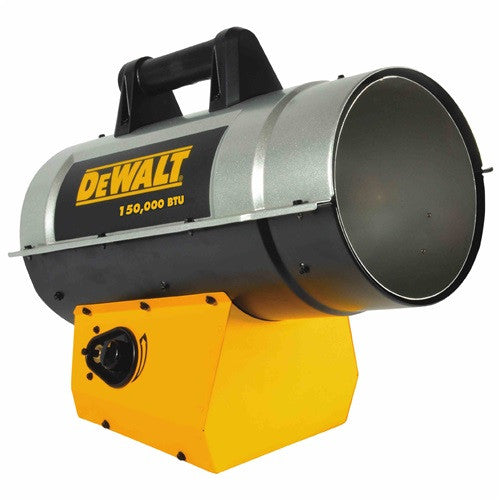 DEWALT Forced Air Propane Heater 100,000-150,000 BTU/Hr. -DXH150FAV - Heater - DEWALT