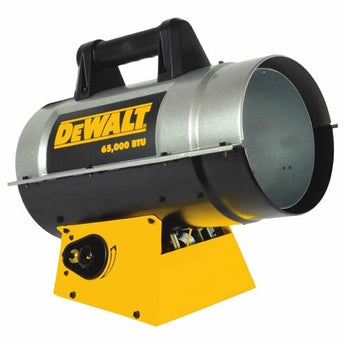DEWALT Forced Air Propane Heater 35,000-65,000 BTU/Hr. - DXH65FAV - LionCove