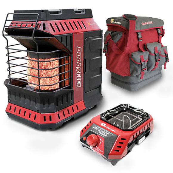 Mr. Heater Buddy FLEX System - Complete with Heater, Cooker & Gear Bag