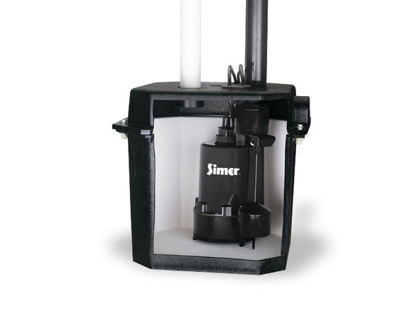 SIMER 2925B-02 SELF-CONTAINED SUMP / LAUNDRY SINK PUMP