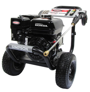 Simpson PowerShot 3300 PSI @ 2.5GPM Pressure Washer (Cold Water, Gas) PS3325 w/Honda Engine GX200 - Pressure Washer - Simpson