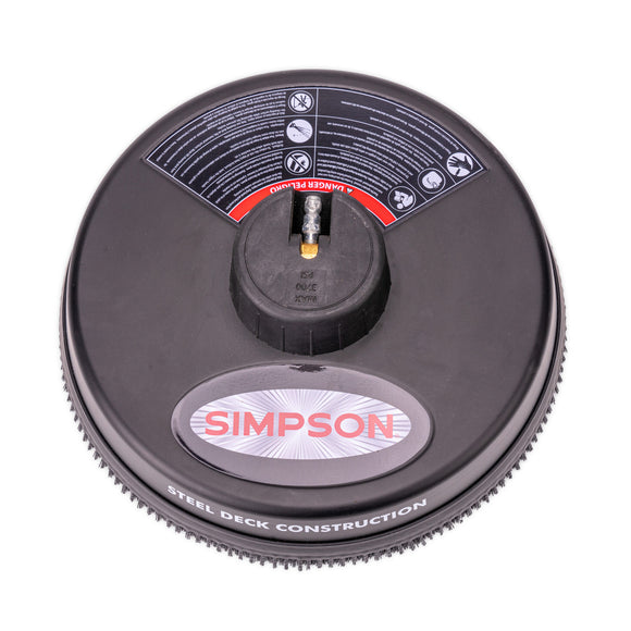 Simpson 15 in. Steel Surface Cleaner