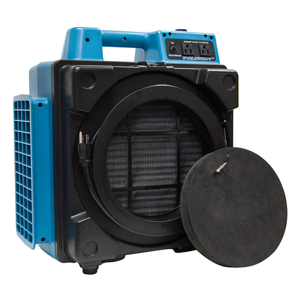 XPOWER X-2480A Professional 3-Stage HEPA Mini Air Scrubber - Mini Air Scrubber - XPOWER