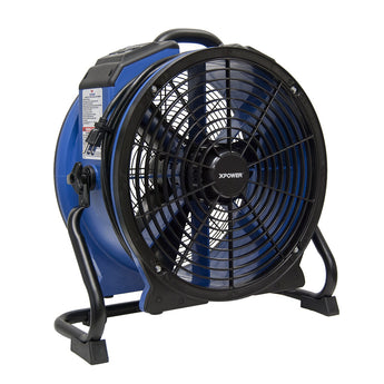 XPOWER X-48ATR Professional High Temp Axial Fan (1/3 HP)