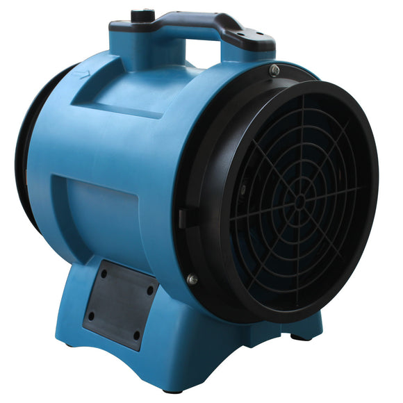 XPOWER X-8 Industrial Confined Space Fan (1/3 HP) - Confined Space Fan - XPOWER