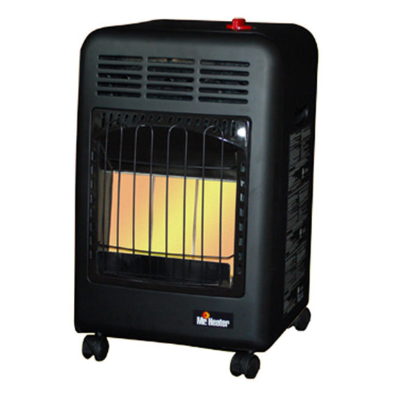 Mr. Heater Cabinet Radiant Propane Heater 6,000, 12,000 and 18,000 BTU/Hr. - Heater - Mr. Heater