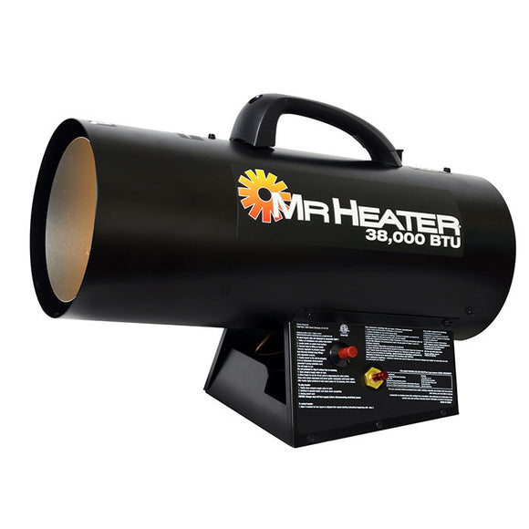 Mr. Heater Forced Air Propane Heater 38,000 BTU/Hr., MH38QFA - Heater - Mr. Heater