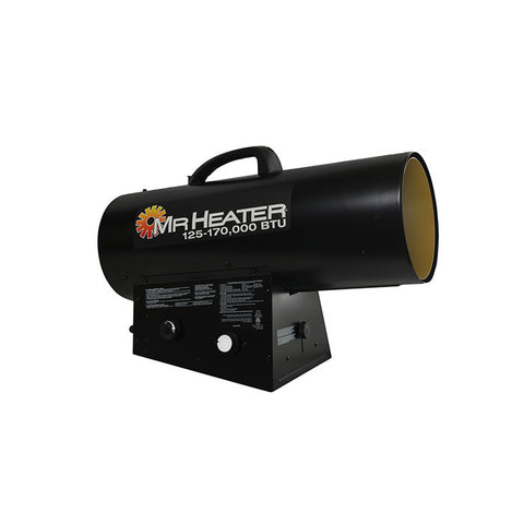 Mr. Heater Forced Air Propane Heater 125,000 - 170,000 BTU/Hr., MH170QFAVT - Heater - Mr. Heater