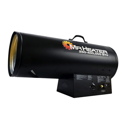 Mr. Heater Forced Air Propane Heater 250,000 - 400,000 BTU/Hr., MH400FAVT - Heater - Mr. Heater