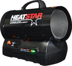 HeatStar HS60CLP Cordless Forced Air Propane Heater, 30,000 - 60,000 BTU/Hr. - LionCove