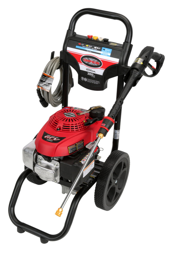 Simpson Pressure Washer 3000 PSI @ 2.4 GPM GCV160 - Pressure Washer - LionCove