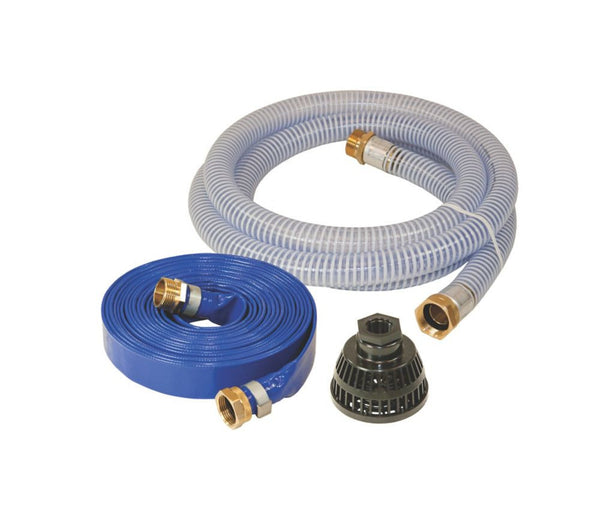 "1"" Threaded Water Pump Hose Kit - LionCove"