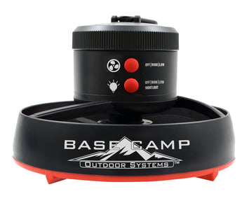 BaseCamp Tent Fan with LED Light (F235100)