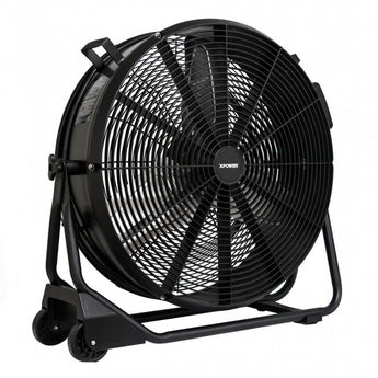"XPOWER FD-650DC Brushless DC High Velocity 24"" Drum Fan"