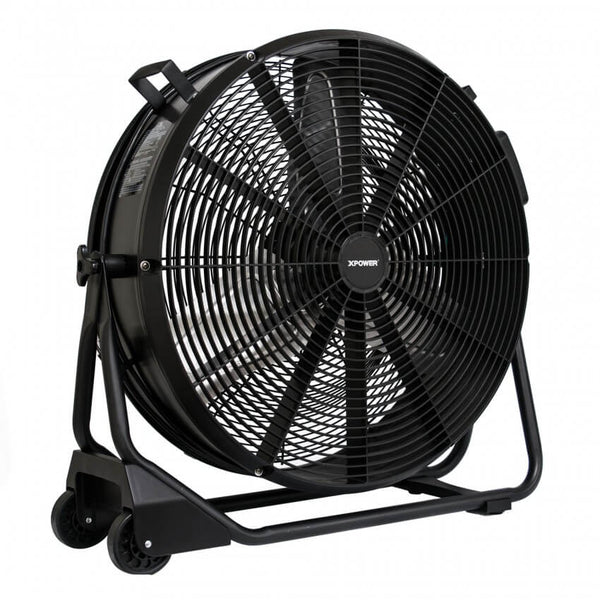 "XPOWER FD-650DC Brushless DC High Velocity 24"" Drum Fan - Axial Fan - XPOWER"