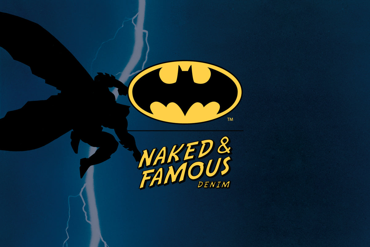 Batman x Naked & Famous Denim