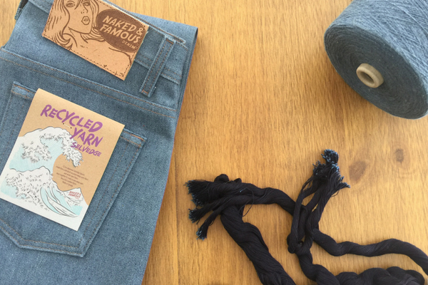 Eco-friendly Selvedge Jeans.