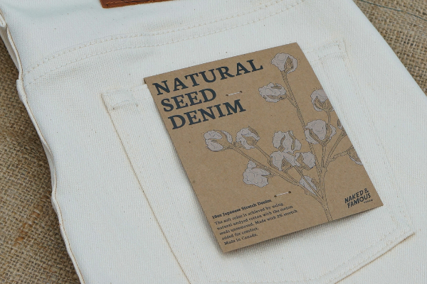 Natural Seed Denim by Naked & Famous Denim