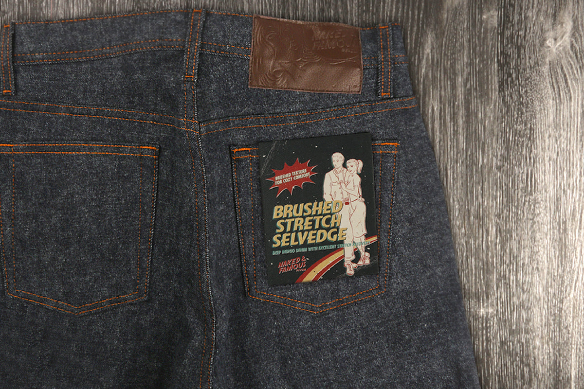 Everything you need to know about the new Brushed Stretch Selvedge