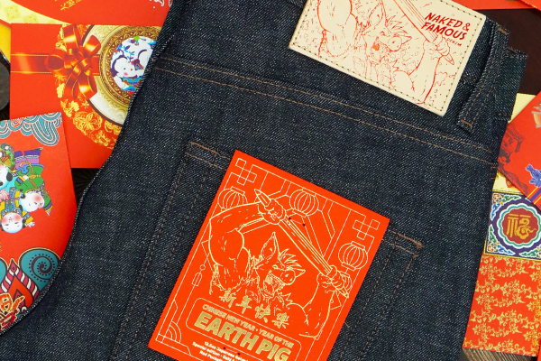 Celebrate Chinese New Year with Naked & Famous Denim's Earth Pig