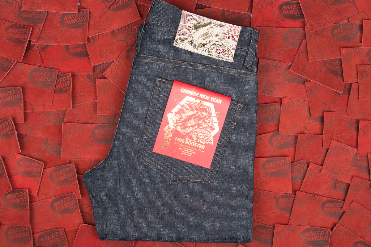 Celebrate Chinese New Year with Naked & Famous Denim